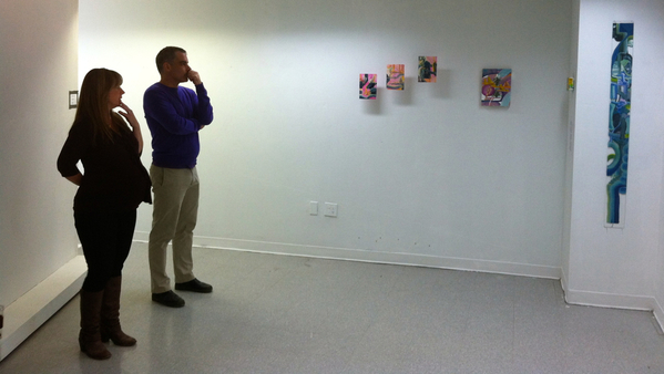 Finley Gallery critique -April Zanne Johnson with Matthew Nichols