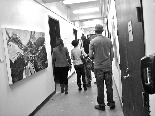 Open Studio 11.11.11 Finley Hall Montclair State University