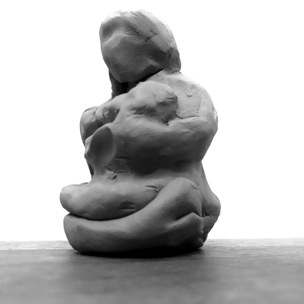 Asylum Seekers, 2019-20, plasticene model (view1)